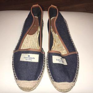 Kate Spade ♠️ Jean Espadrille Shoes 9 BNNB